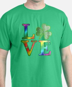 Irish Love Rainbow Colors T-Shirt