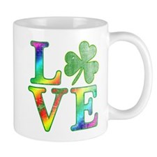 Irish Love Rainbow Colors Mug