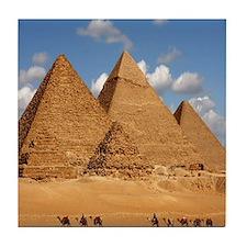 Giza Pyramids Tile Coaster