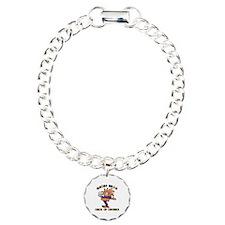 Mardi Gras Drink Up Bitc Bracelet