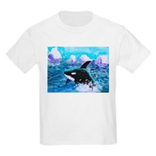 Killer Whale Painting T-Shirt