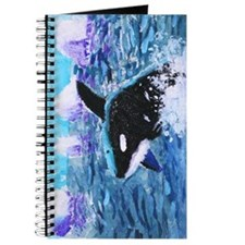 Killer Whale Painting Journal