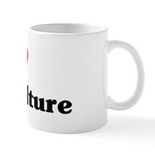 I Love Horticulture Mug