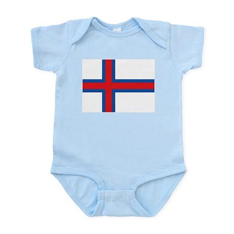 Faroe flag The Banner Infant Bodysuit