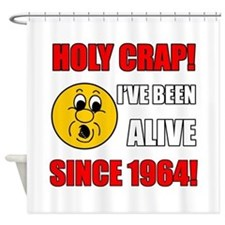 1964 Holy Crap Shower Curtain