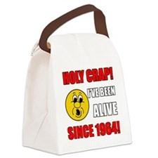 1964 Holy Crap Canvas Lunch Bag