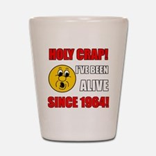 1964 Holy Crap Shot Glass