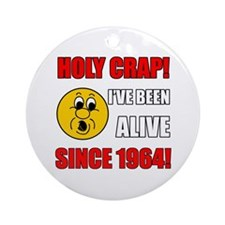 1964 Holy Crap Ornament (Round)