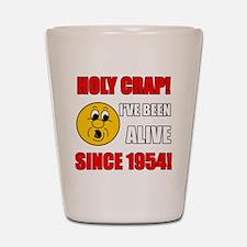 1954 Holy Crap Shot Glass