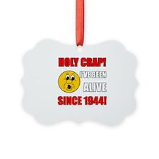 1944 Holy Crap Ornament