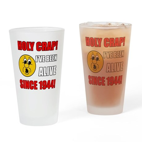 1944 Holy Crap Drinking Glass