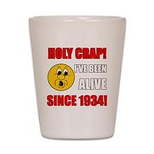 1934 Holy Crap Shot Glass