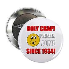 "1934 Holy Crap 2.25"" Button"