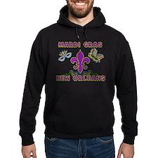 Mardi Gras New Orleans Hoodie