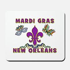 Mardi Gras New Orleans Mousepad