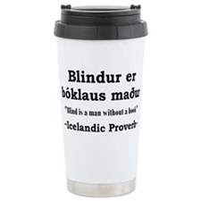 Cute Icelandic Travel Mug