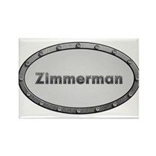 Zimmerman Metal Oval Magnets