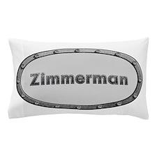 Zimmerman Metal Oval Pillow Case