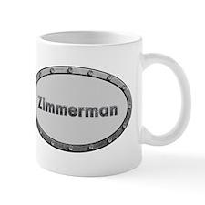 Zimmerman Metal Oval Mugs