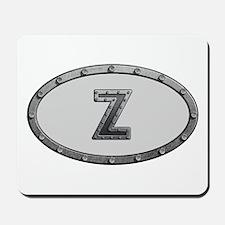 Z Metal Oval Mousepad