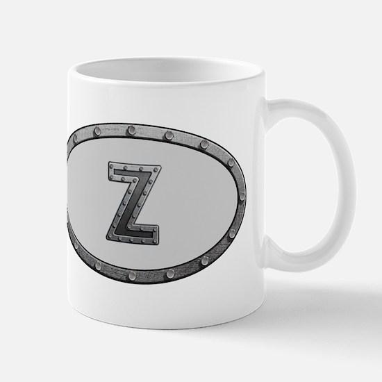 Z Metal Oval Mugs