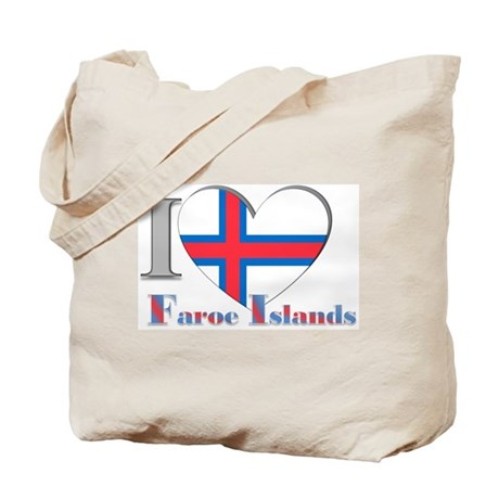 I love Faroe Islands Tote Bag