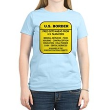 US BORDER FREE GIFTS AHEAD FROM US TAXPAYERS T-Shi