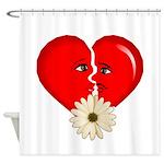 heart break Shower Curtain