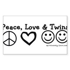 Peace_Love_Twins Decal