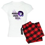 Mardi Gras 2014 Women's Light Pajamas