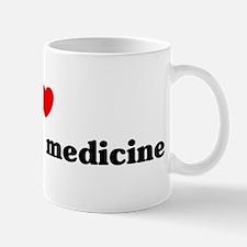 I Love veterinary medicine Mug