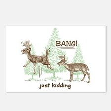 Bang! Just Kidding! Hunti Postcards (Package of 8)