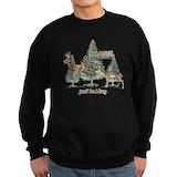 Funny hunting Sweatshirt (dark)