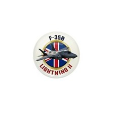 RAF F-35B Lightning II Mini Button (10 pack)