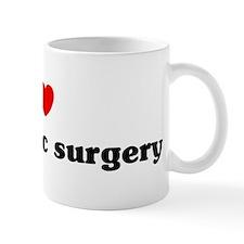 I Love orthopedic surgery Mug