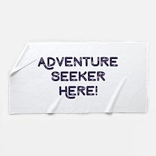 Adventure Seeker Beach Towel