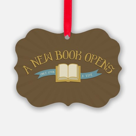 A New Book Opens OUAT Ornament