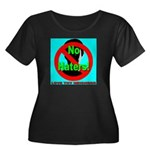 No Haters Love Thy Neighbor Women's Plus Size Scoo
