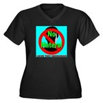 No Haters Love Thy Neighbor Women's Plus Size V-Ne