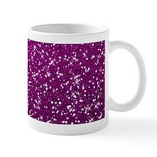 Glittery Pink Glitters Sparkles Mugs