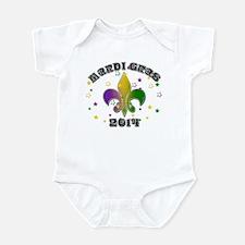 Mardi Gras 2014 Infant Bodysuit