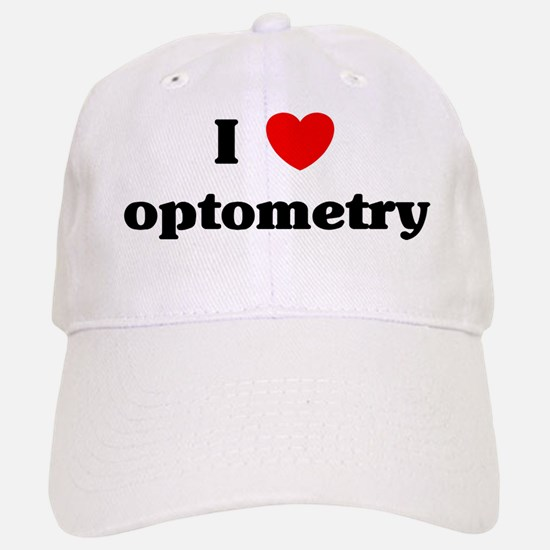 I Love optometry Baseball Baseball Cap
