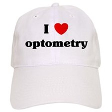 I Love optometry Baseball Cap