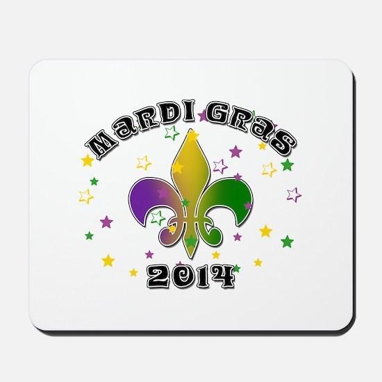 Mardi Gras 2014 Mousepad