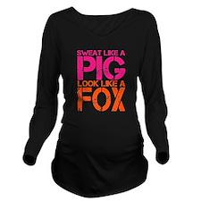 Sweat Like a Pig, Look Like a Fox Long Sleeve Mate