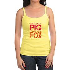 Sweat Like a Pig, Look Like a Fox Tank Top