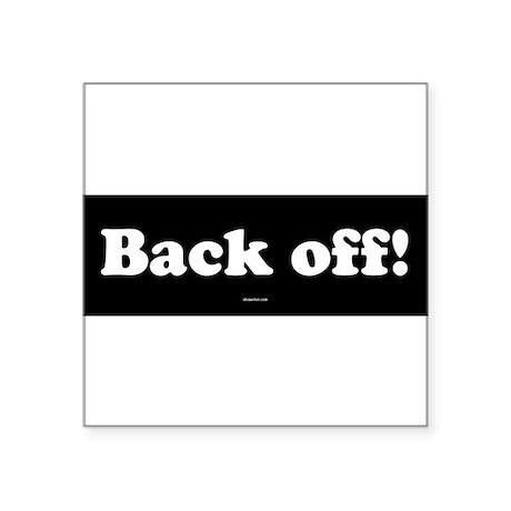back-off.psd Sticker