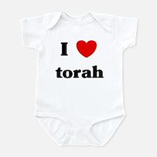 I Love torah Infant Bodysuit