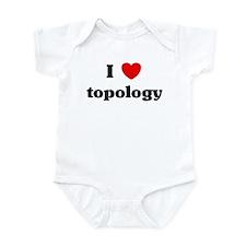 I Love topology Infant Bodysuit