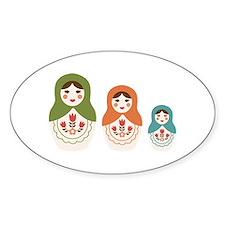 Matryoshka Russian Dolls Decal